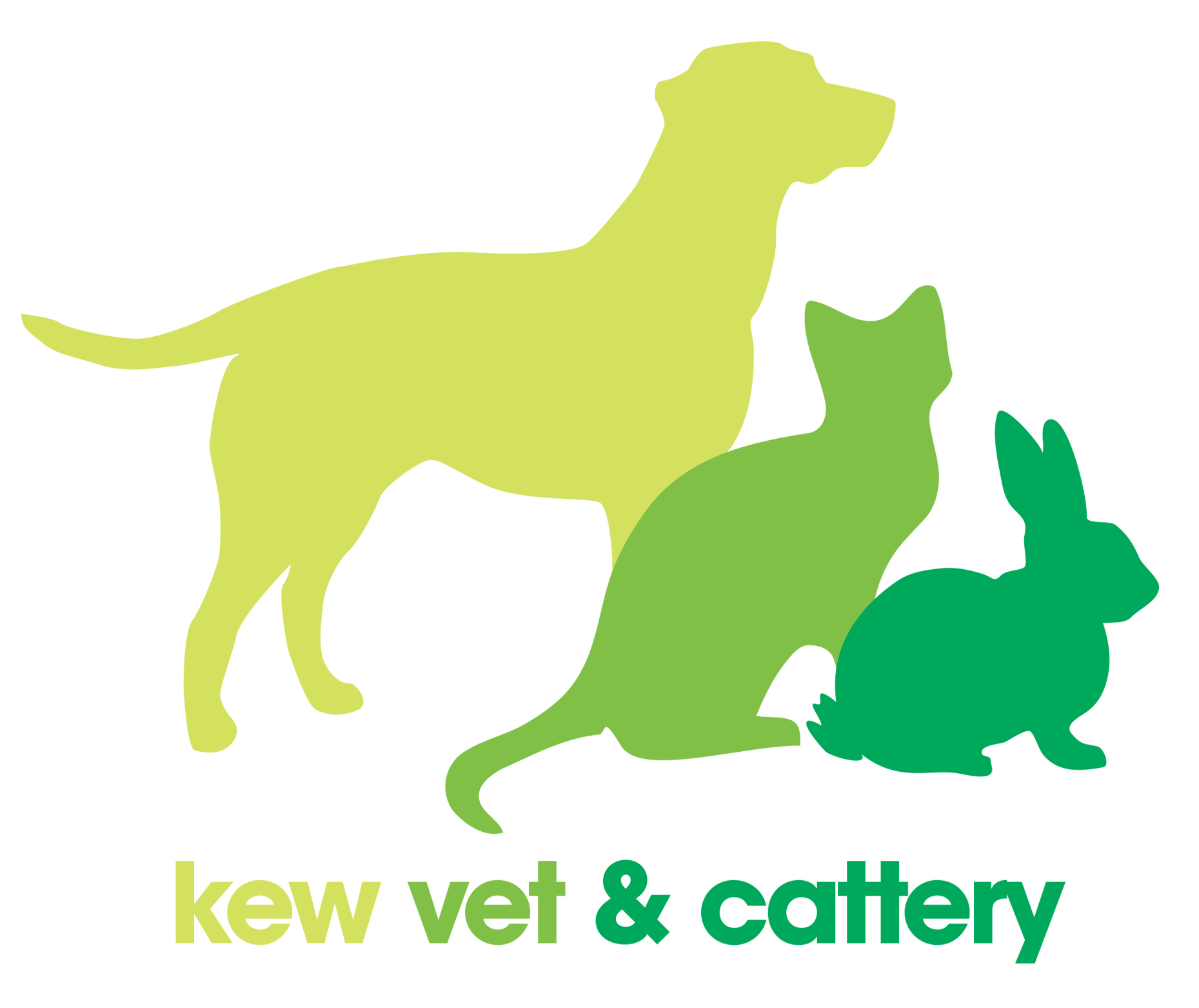 Kew Vet and Cattery Logo