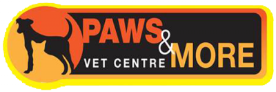 Paws and More Vet Centre Logo