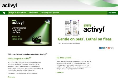 Activyl Website