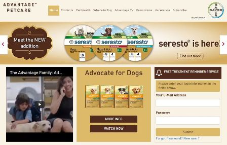 Advantage Pet Care Website